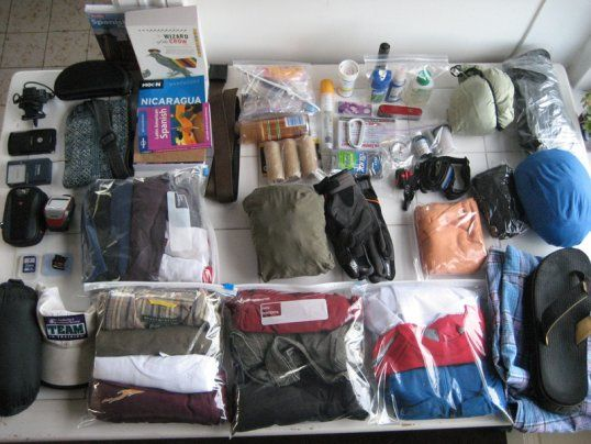 Travel Packing Hacks. Save space!