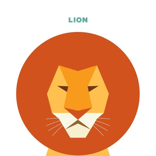 Design Illustrations Simple Animal Drawings Shapes Logo