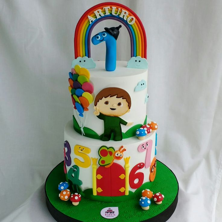 Charlie and numbers Cake... Charlie y los números. Baby TV