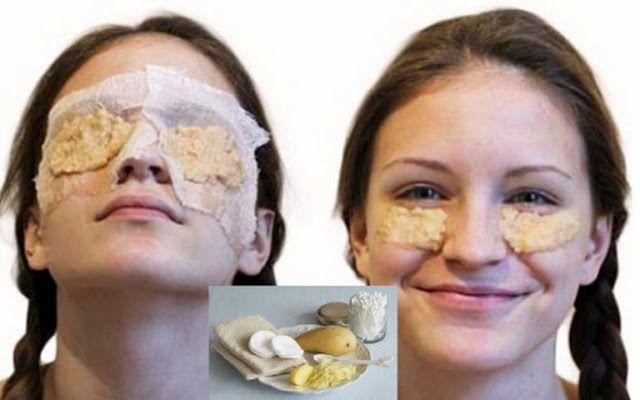 Aceasta masca uimitoare albeste pielea si elimina cercurile negre si ridurile din jurul ochilor – Rezultatele sunt imediate! | Secretele
