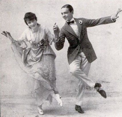 Fred and Adele - vaudeville dancers in 1915