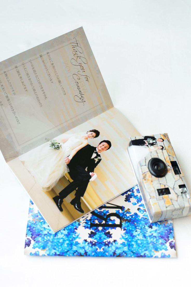 Photography:unison  #パレスホテル東京 #結婚式 #プロフィールブック #花嫁diy