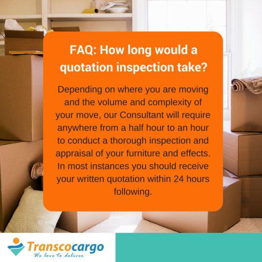 Transco Cargo FAQ
