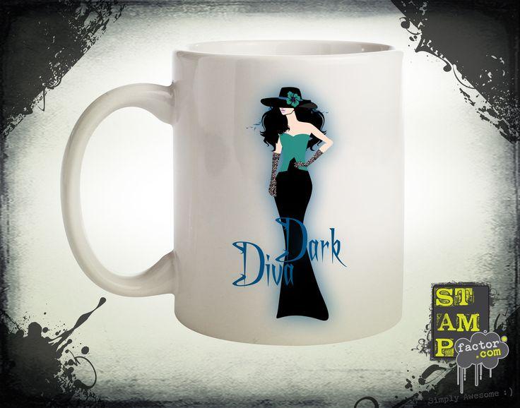 Dark Diva (Version 06) 2014 Collection - © stampfactor.com *MUG PREVIEW*