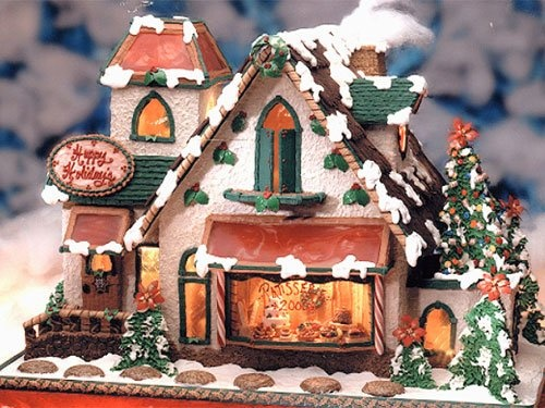 86 best Gingerbread Houses images on Pinterest