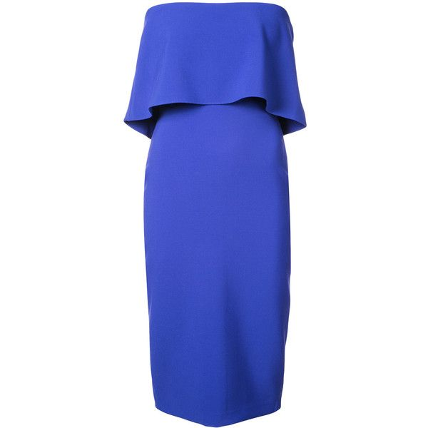 Likely top detail bodycon dress ($180) ❤ liked on Polyvore featuring dresses, blue, royal blue dress, royal blue color dress, bodycon dress, blue bodycon dress and body con dress
