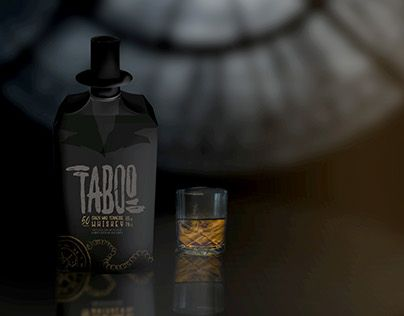 """Check out new work on my @Behance portfolio: """"Concept of whiskey inspired by Taboo series"""" http://be.net/gallery/53804297/Concept-of-whiskey-inspired-by-Taboo-series"""