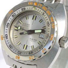 Best Women's Dive Watches – DOXA NOS SUB 200T Nymph