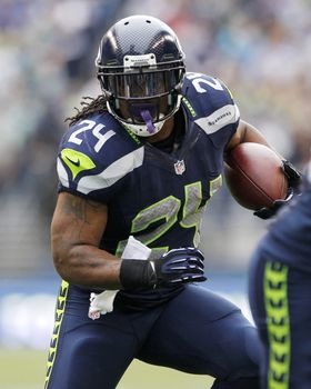 Marshawn Lynch Picture at NFL Photo Store