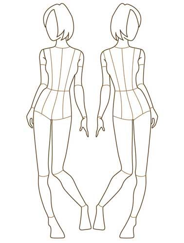 91 Best Images About Croquis For Fashion Design On