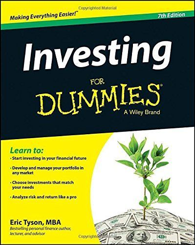 Investing For Dummies by Eric Tyson http://smile.amazon.com/dp/1118884922/ref=cm_sw_r_pi_dp_MNGPub10AVE7B investing ideas, how to invest