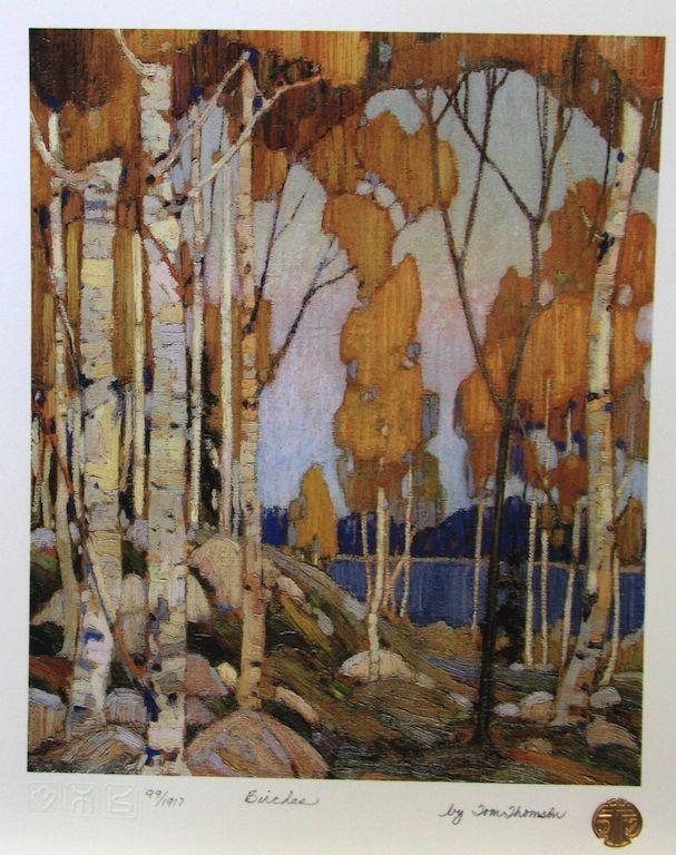 Tom Thomson:  The Birches