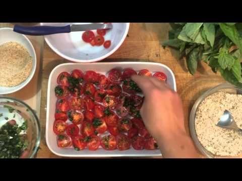 Vita notturna – Pomodorini al forno   La Caprino