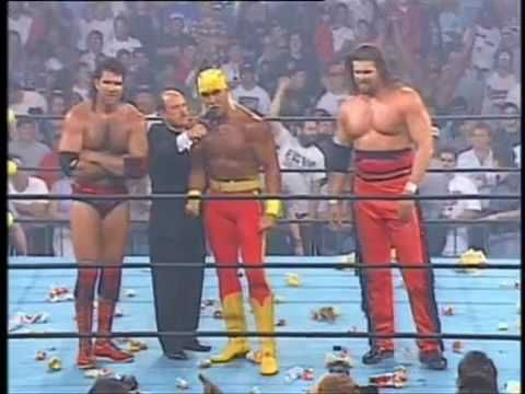 Formation of the nWo at Bash At The Beach, 1996.