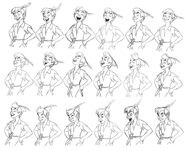 """Peter Pan"" by Milt Kahl ★ 