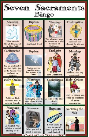 Catholic Bingo Games