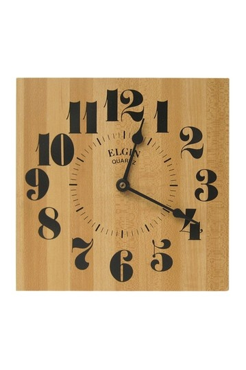 Elgin Wall Clock / love the numbers