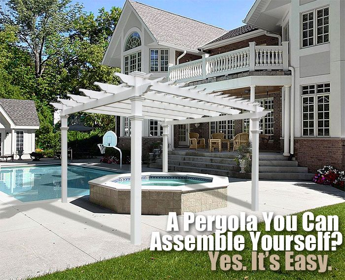 Key Features of New England Arbors' DIY Regency Pergola Kit, and Why it Surpasses Other Kits and Even Custom Built Structures.