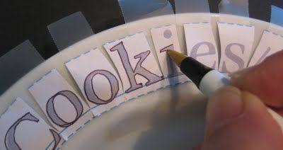 Porcelaine Paint Pen work, image transfer, text on a curve