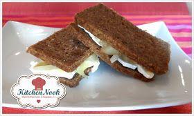 Rustico con brie, cipolla caramellata, pere calde e noci: il panino perfetto con PEMA