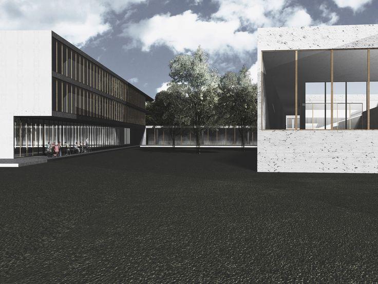 Wellness center + Hotel - External view - Atelier Arnaboldi - BC3 - Render