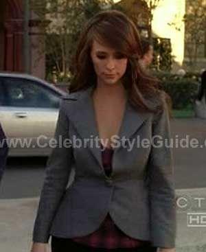 Jennifer Love Hewitt wearing Porro Designs