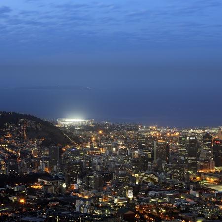 Green Point Stadium by GMP Architekten. Cape Town. South Africa