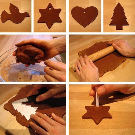 4 Ιδεες βημα βημα για να φτιαξετε πανεμορφα οικολογικα χριστουγεννιατικα στολιδια για το δεντρο!