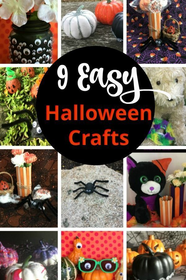 42+ Easy halloween crafts for adults ideas