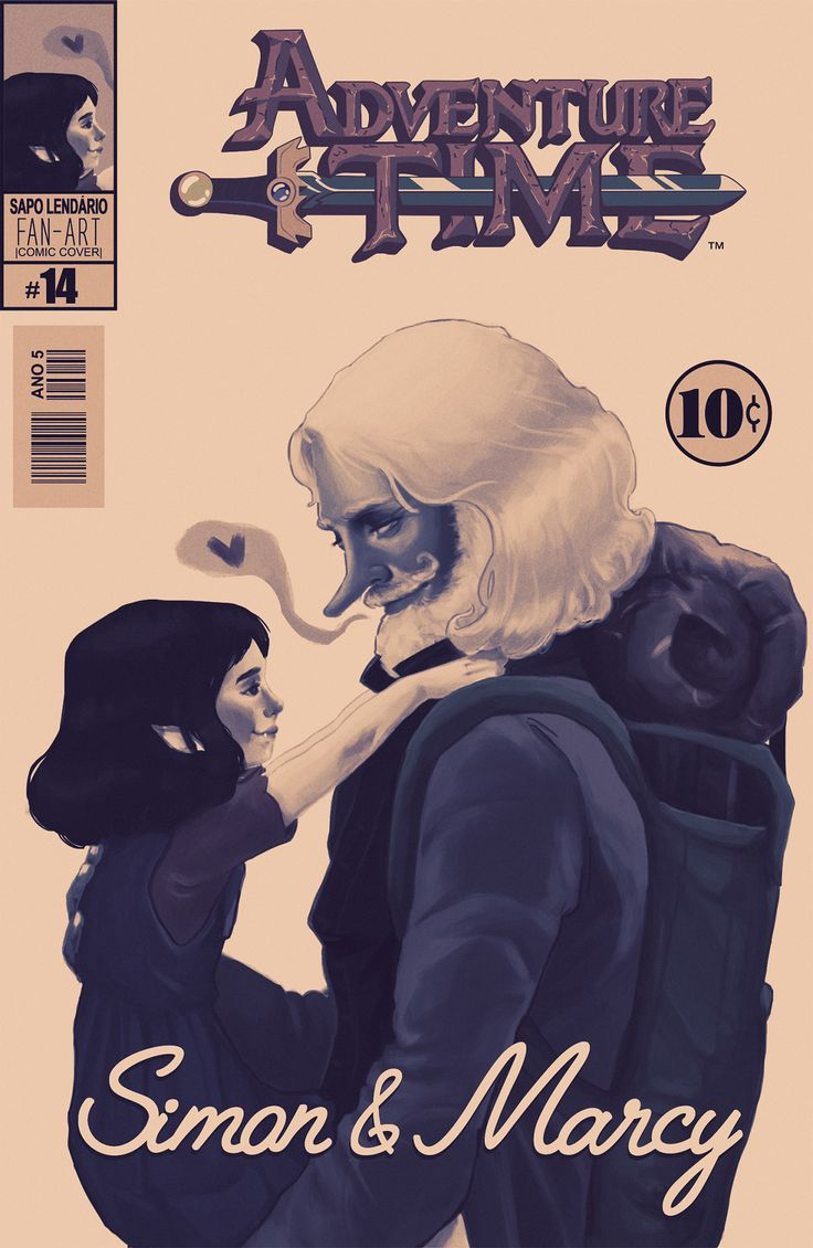 Comic cover Adventure Time (WIP) on Behance