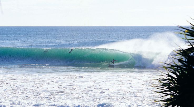 """Home of the famous """"Burleigh Barrel"""" that attracts surfers from around the globe keen to experience this classic point break."""