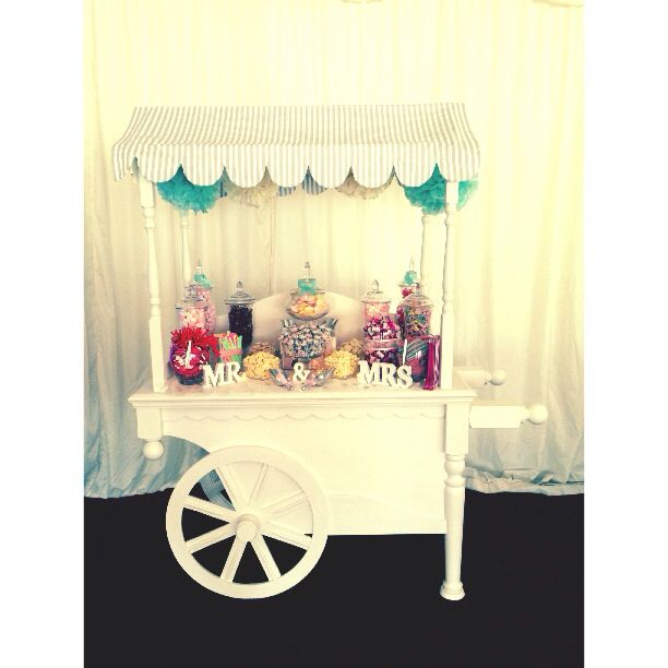 My new traditional candy cart!!