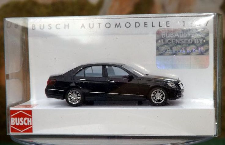 "Busch Modellauto 44200 ""Mercedes Benz E-Klasse"" in OVP wie neu"