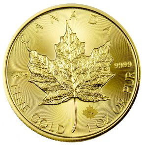 2015 Canadian Gold Maple Leaf Coins - 1 oz. - Obverse