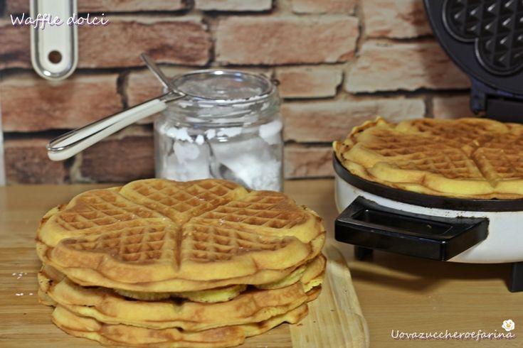 Ricetta dei Waffle dolci