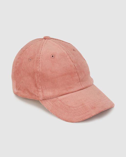 Gorra de pana de niña Brotes en rosa · Brotes · Moda · El Corte Inglés