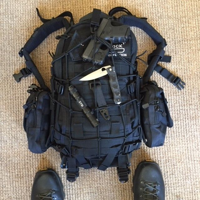 My WIP Fastpack from Triple Aught Design. #tad #edc #litespeed #backpack #tactical #werx