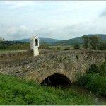 Hegyesd míves kőhídja, az Eger-víz felett (Balaton-felvidék)