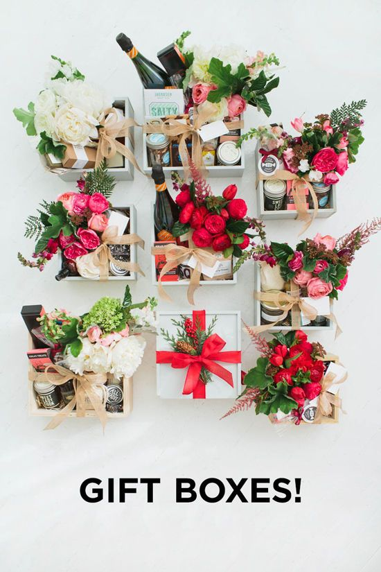 cajas aguinaldos CURATED GIFT BOXES
