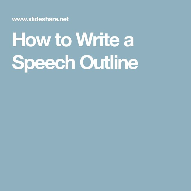 Best 10+ Funny student council speeches ideas on Pinterest - speech outline