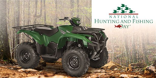 This year Yamaha Motorsports is giving away an all-new 2016 Kodiak 700 EPS to help raise awareness and funds for outdoor sports and conservation!