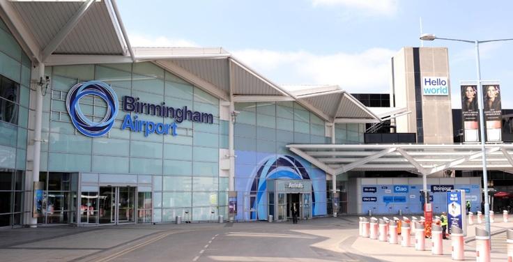Birmingham Airport, England