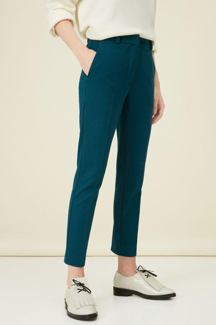 Pantalón punto roma   Pantalones   Mujer   Purificación García