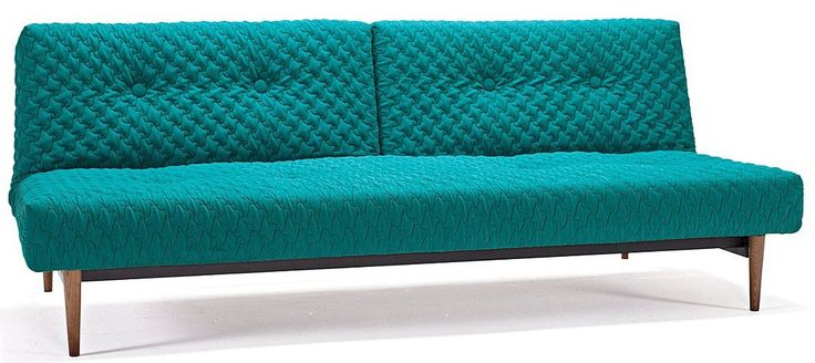 Innovation Fiftynine Coz sovasofa. Retro sovesofa med træben og Pocket spring madras.