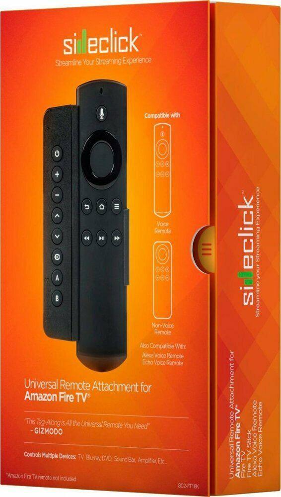 Sideclick - Universal Remote Attachment for Amazon Fire TV