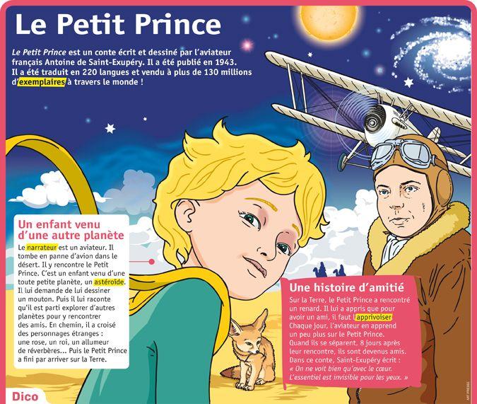 Fiche exposés : Le Petit Prince