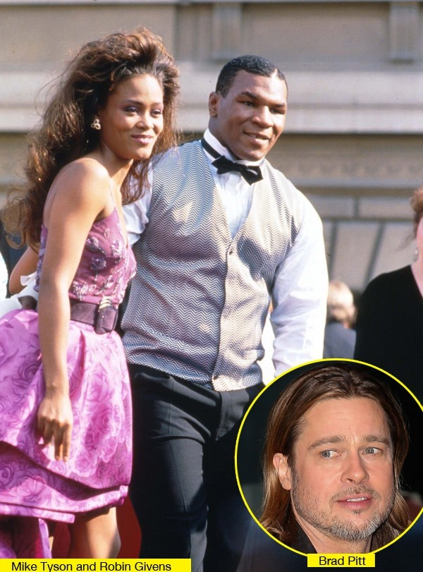 Mike Tyson Brad Pitt Love Triangle