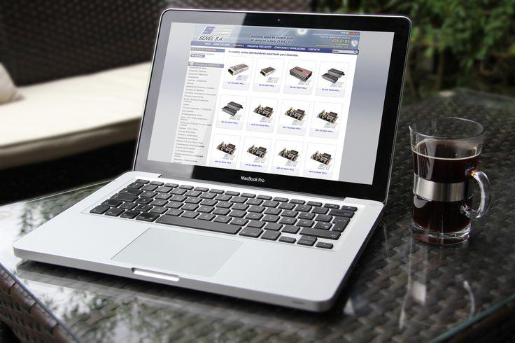 Sitio Web Senel desarrollado en CMS Joomla