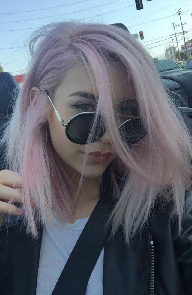 Resultado de imagen de pink hair tumblr