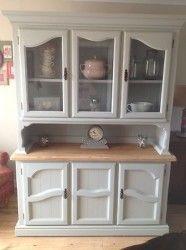 Shabby chic solid oak welsh dresser